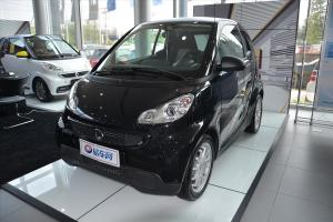 smart fortwo 深黑色