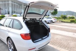 进口宝马3系旅行轿车 行李厢开口范围