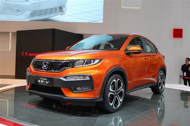东风本田XR-V量产车型将于11月18日上市