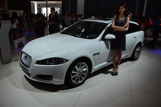 捷豹2015款XF全系亮相17届成都车展
