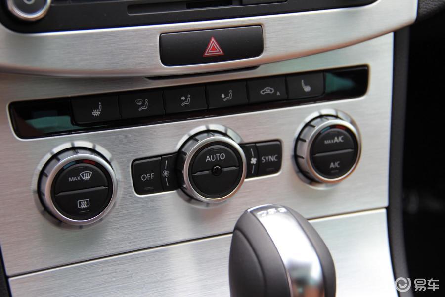 【大众cc2015款2.0t 双离合 豪华型中控台空调控制键