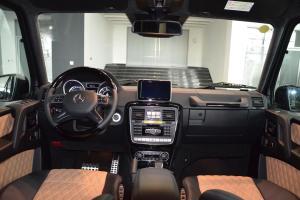 奔驰G级AMG(进口)完整内饰(中间位置)图片