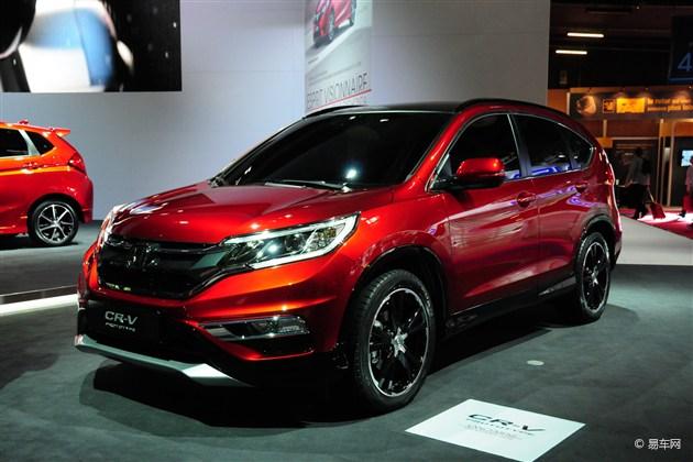 改款CR-V上海车展上市 换搭地球梦发动机