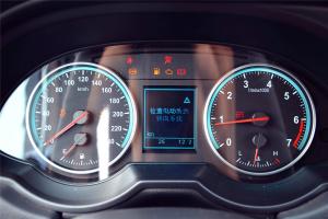 中华V5仪表盘背光显示图片
