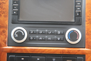 福田风景G9 中控台空调控制键