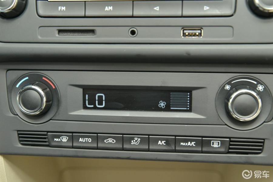 【昕锐2015款1.6l 自动 优选版中控台空调控制键汽车