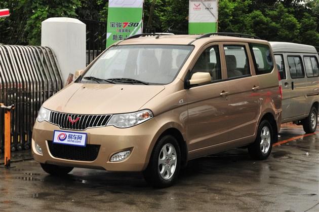 2014年中国畅销车排行 五菱宏光蝉联冠军