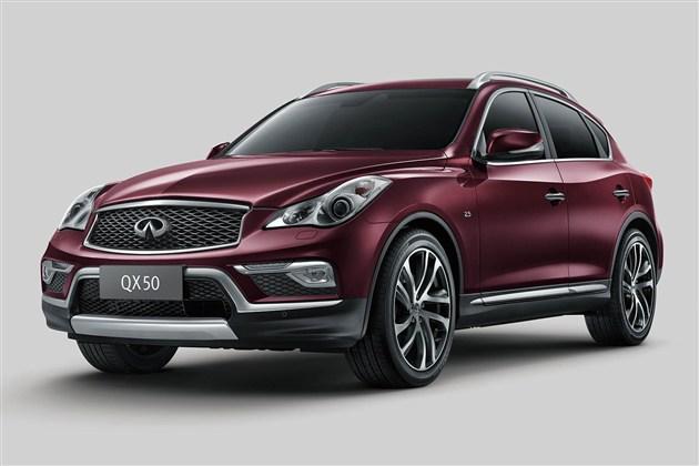 英菲尼迪广州车展阵容公布 国产QX50首发