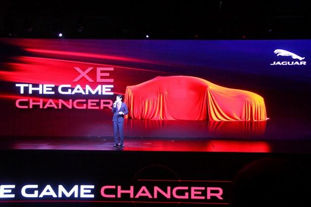 捷豹XE国内首发直播 采用轻量化车身技术