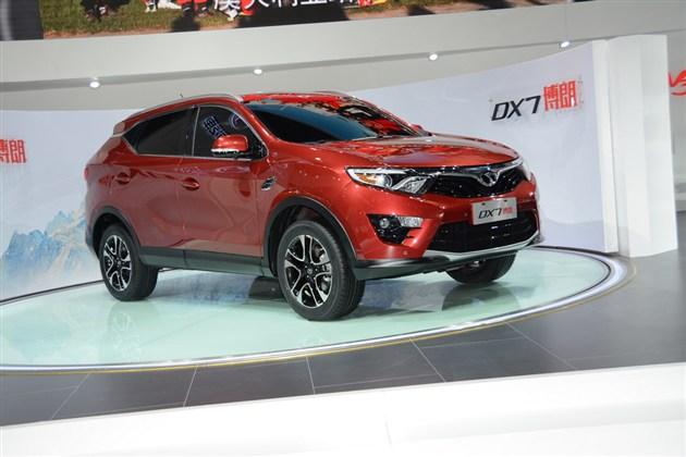 东南首款SUV DX7博朗于上海车展正式发布