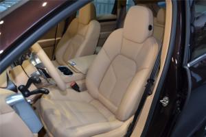 保时捷Cayenne驾驶员座椅图片