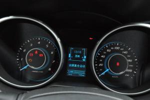 北汽绅宝X65 仪表盘背光显示