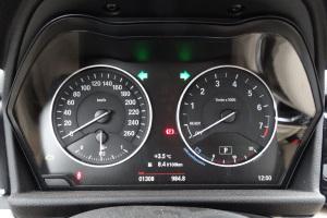 宝马2系运动旅行车(进口)仪表 图片
