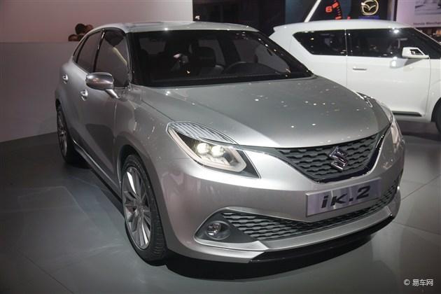 2015日内瓦车展 铃木ik-2概念车全球首发