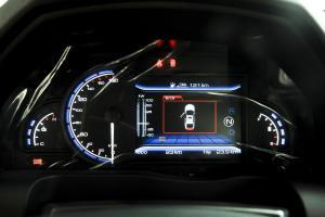 北汽ES210 仪表盘背光显示