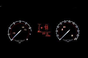 奇瑞艾瑞泽3 仪表盘背光显示