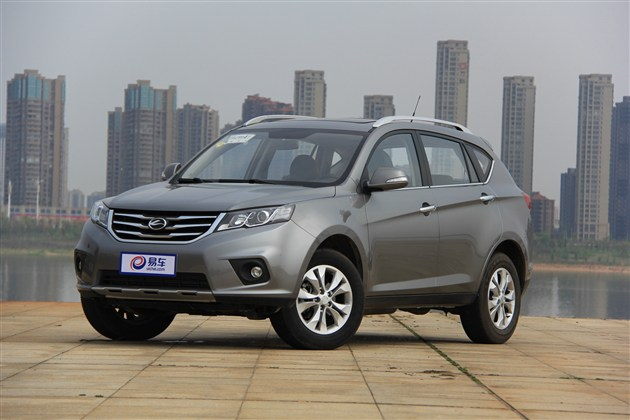 陆风X5 1.5T CVT车型上市 售10.28万元起