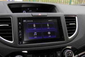 CR-V中控台音响控制键