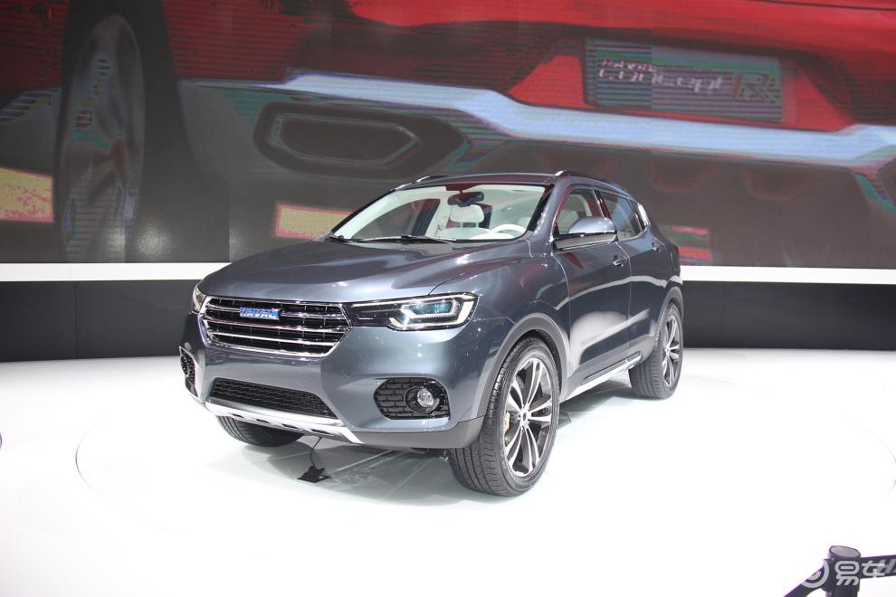 2015上海车展看新车:长城哈弗concept B