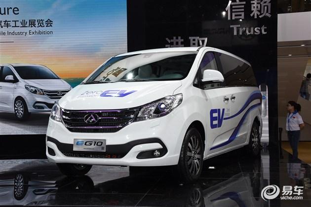 上汽大通三款新车发布 纯电MPV EG10领衔
