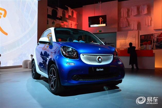 全新一代smart fortwo将于7月30日上市