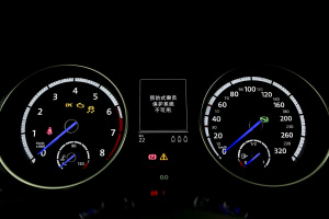Golf R仪表盘背光显示图片