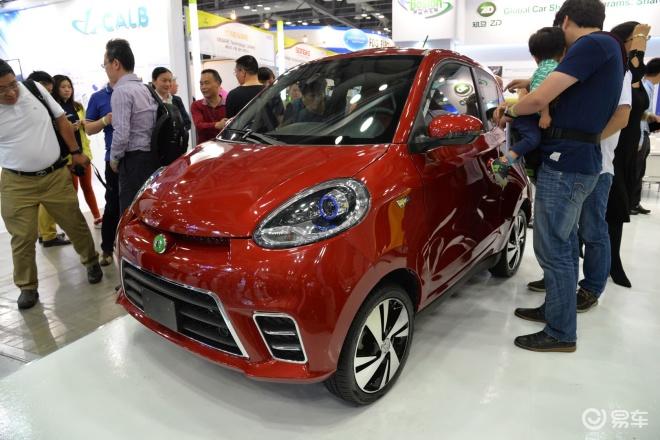 2015款 知豆D2 标准型最新报价15.88万降5.56万元深圳知豆汽车