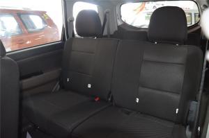 森雅S80后排座椅图片