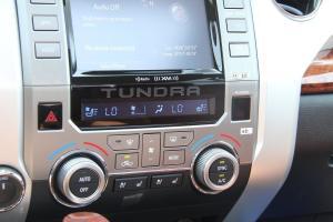 进口坦途 中控台空调控制键