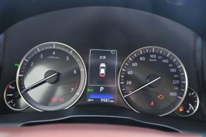 雷克萨斯ES仪表盘背光显示图片