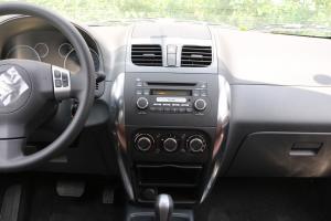 天语SX4两厢中控台正面图片