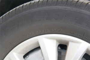 昂科威轮胎规格