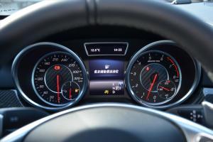 奔驰GLE级AMG运动SUV(进口)仪表盘背光显示图片