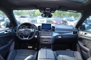 奔驰GLE级AMG运动SUV(进口)完整内饰(中间位置)图片