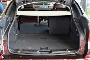 进口宝马5系GT 行李箱空间(后排左放倒)