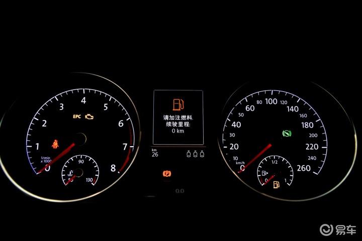 > 大众golf旅行轿车仪表盘背光显示图片