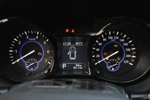 驭胜S350仪表盘背光显示图片