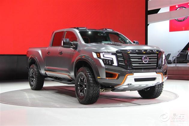 日产Titan Warrior概念车有望正式投产