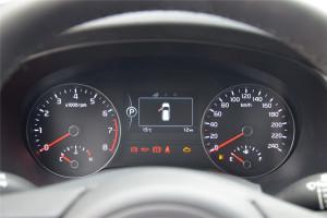 起亚KX5仪表盘背光显示图片