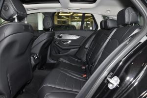 奔驰C级旅行轿车(进口)后排空间图片