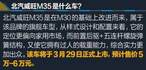 北汽威旺M35北汽威旺M35图解图片