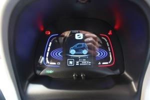众泰E200               仪表盘背光显示
