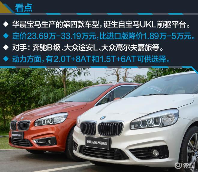 试创新BMW2系旅行车 打响国产前驱首战!