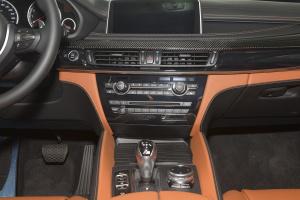 宝马X6 M中控台整体图片