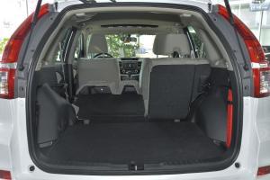 CR-V行李箱空间(后排左放倒)