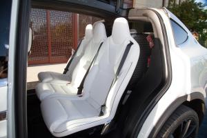 进口MODEL X          后排座椅