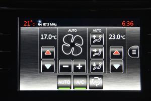C4毕加索中控台空调控制键