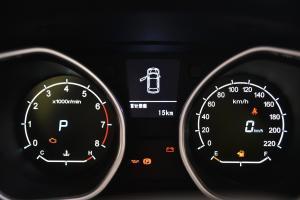 吉利GX7仪表盘背光显示图片
