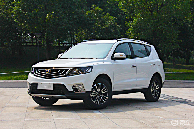 五一特惠购 远景SUV超值7.49万起售