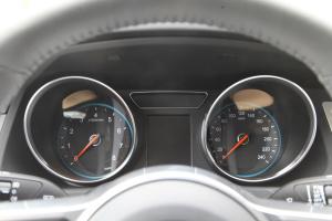 众泰T600仪表盘背光显示图片